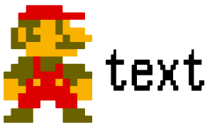 Yoshi text 1990s