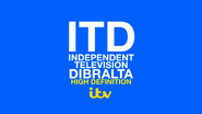 Independent Television Dibrata Ident 1975 with the 2013 ITV logo