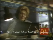 McDonald's URA TVC - Hardnose Mrs. Hatcher - 12-21-1987 - 1