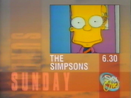 Sky One promo - The Simpsons - 1990