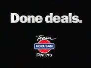 Team Hokusan Dealers NEU TVC 1999