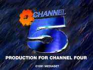 Channel 5 for Channel 4 1