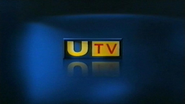 UTV blue background ident and break bumper - 2002