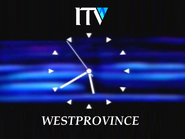 Westprovince ITV 1993 clock