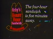 Arby's eruowood ad 1972