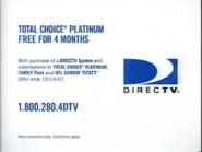DirecTV URA TVC - Sept. 9, 2001 - 2