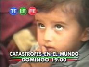 Telefe promo - Catastrofes en el Mundo - 1999