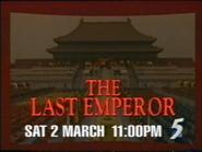 CH5 promo - The Last Emperor - 1996