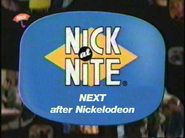Nick at Nite - NEXT after Nickelodeon