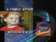 Sky Channel promo - A Family Affair - 1989