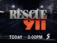 CH5 promo - Rescue 911 - 1997