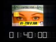 SRT clock - Cartao Vital - March 23, 1997 - 3