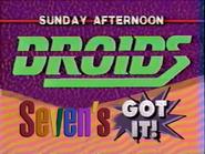 Seven promo - Star Wars Droids - 1992 - 2
