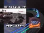 Sky Channel promo - The DJ Kat Show - 1989