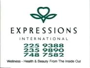 CH5 sponsor billboard - Expressions - 1996
