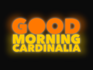 Good Morning Cardinalia 1982 open