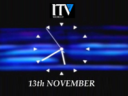 ITV World clock 1989