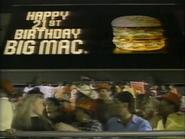 McDonald's 99 Cent Big Mac TVC - 1-29-1989 - 1