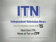 ITN channel 5 news close 1992