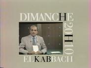 Telecinq promo - El Kabbach - 1991