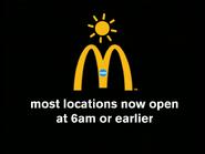 Mcdonalds cheyenne most locations open 6am earlier