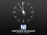 ABT 1995 clock (Northern Insurance)