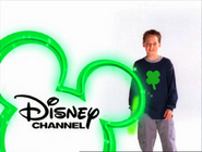Disney Channel - Jake Thomas wearing a four leaf clover shirt
