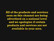 ITV Emergency Service pre-startup notice about ads (1979)
