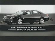 2007 Toyota Avalon URA TVC 2006 - 4 - New Newland Toyota Dealers local insert