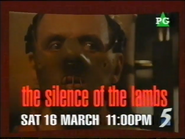 CH5 promo - The Slience of the Lambs - 1996