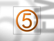 Channel 5 ID - Orange - 1994