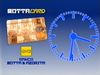 TN1 clock - MottaCard and Banco Motta - 1993