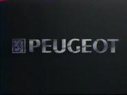 MV1 sponsor billboard - Peugeot - 1991