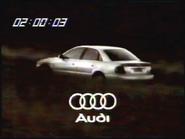 Sigma Audi clock 1997