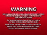 Shawston HV 1986 warning VHS