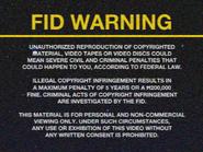 Orbit FID screen - VHS - 1985
