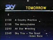 Sky lineup 1987 2