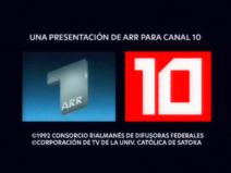 ARR for Canal 10 1992