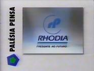 Educativa sponsor Rhodia 1996
