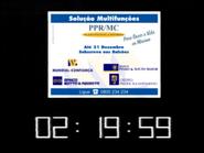 SRT clock - Mundial Souto Mayor Motta and Credito Predial - 1998
