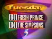 CH5 lineup 1994 1