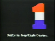 Delifornia Jeep Eagle Dealers TVC 5-15-1988