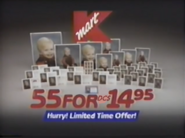 Kmart early christmas commercial, 1991