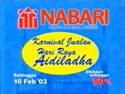 Nabari TVC 2003
