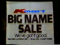 (1985) Kmart television commercial - Big Name Sale.png