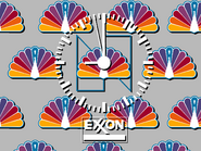 NBC clock - Exxon - 1982