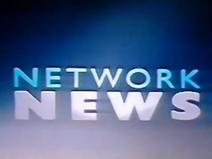 Network News Blue White