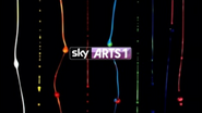 Sky Arts 1 ID - Colour Bars - 2012