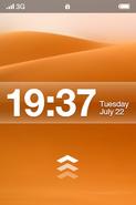 Esfos 2008 lock screen