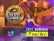 Univision promo - Siempre en Domingo - 1994